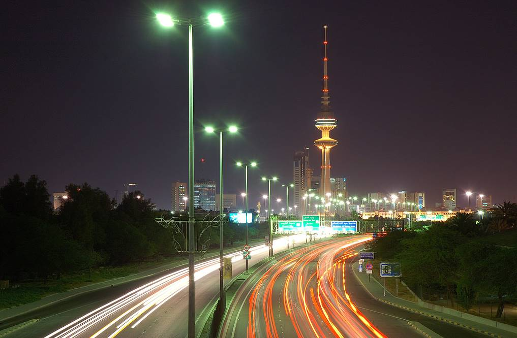 Liberation Tower in Kuwait