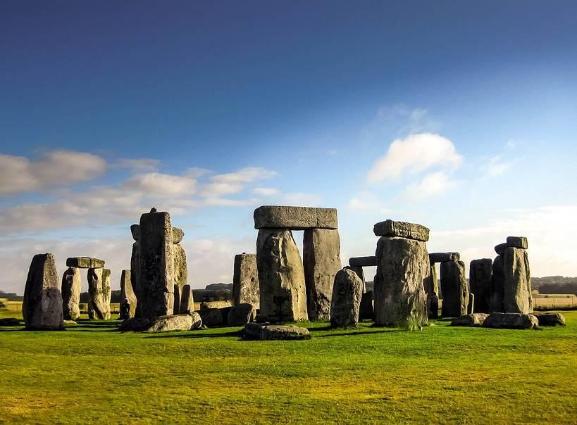 Stonehenge in Wiltshire, England