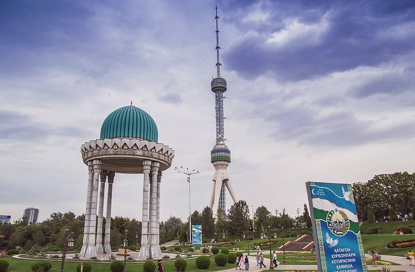 Tashkent Tower in Tashkent, Uzbekistan