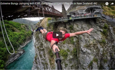 Most Dangerous and Scariest Bungy Jump