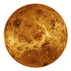 Venus is the only planet that rotate clockwise